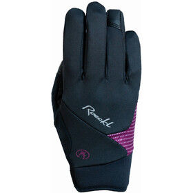 Roeckl Wolga Gloves Women black/berry